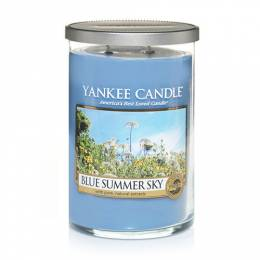 Yankee Candle Blue Summer Sky Large 2-Wick Tumbler Candle