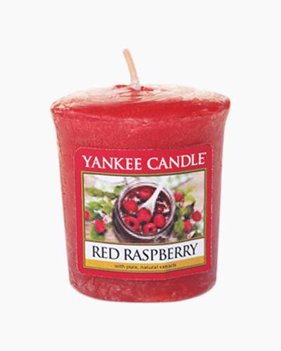 Red Raspberry Samplers Votive Candle