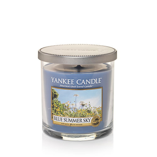 Yankee Candle Blue Summer Sky Regular Tumbler Candle