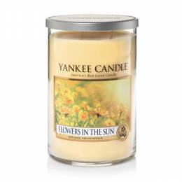 Yankee Candle Flowers In The Sun Large 2-Wick Tumbler Candle