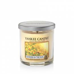 Yankee Candle Flowers In The Sun Regular Tumbler Candle