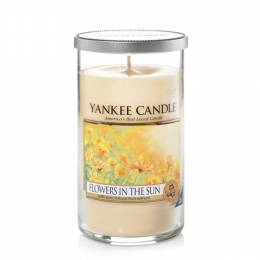 Yankee Candle Flowers In The Sun Medium Perfect Pillar Candle