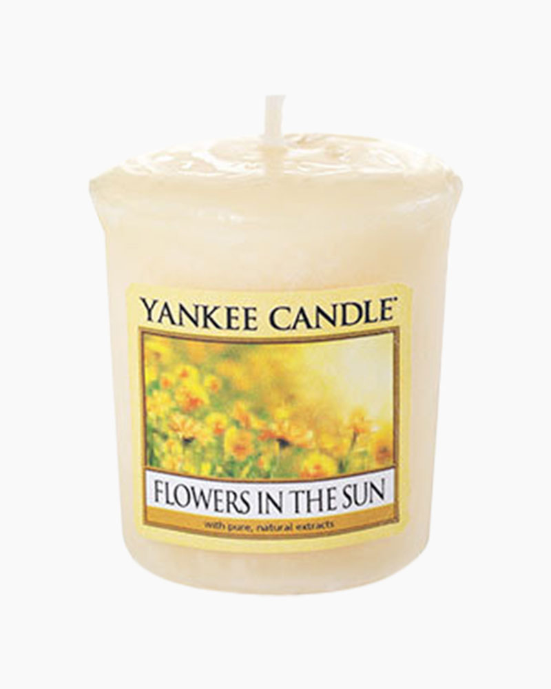Yankee Candle Flowers In The Sun Samplers Votive Candle