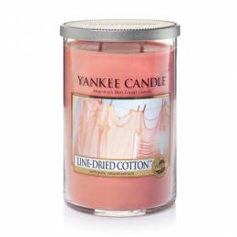 Yankee Candle Line-Dried Cotton Large 2-Wick Tumbler Candle