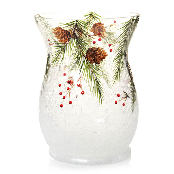 Yankee Candle First Frost Hurricane Holder