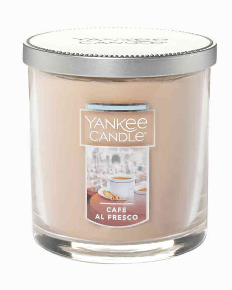 Yankee Candle Cafe al Fresco Regular Tumbler Candle