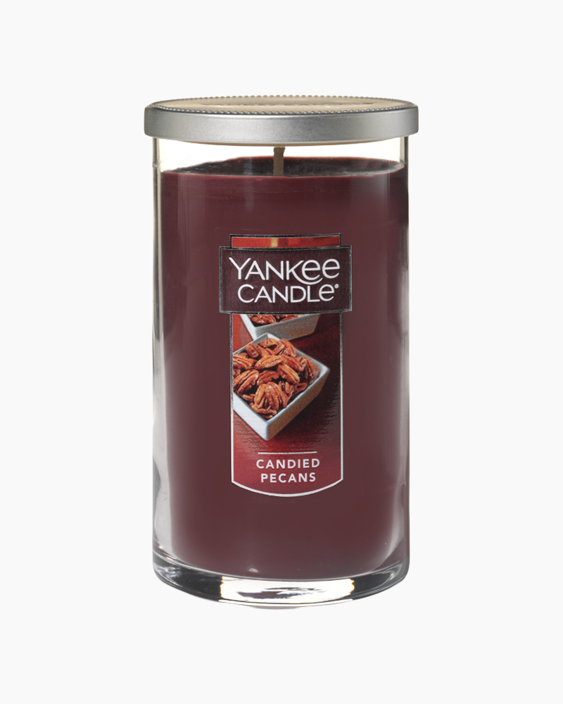 Yankee Candle Candied Pecans Medium Perfect Pillar Candle