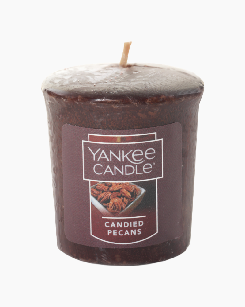 Yankee Candle Candied Pecans Samplers Votive Candle