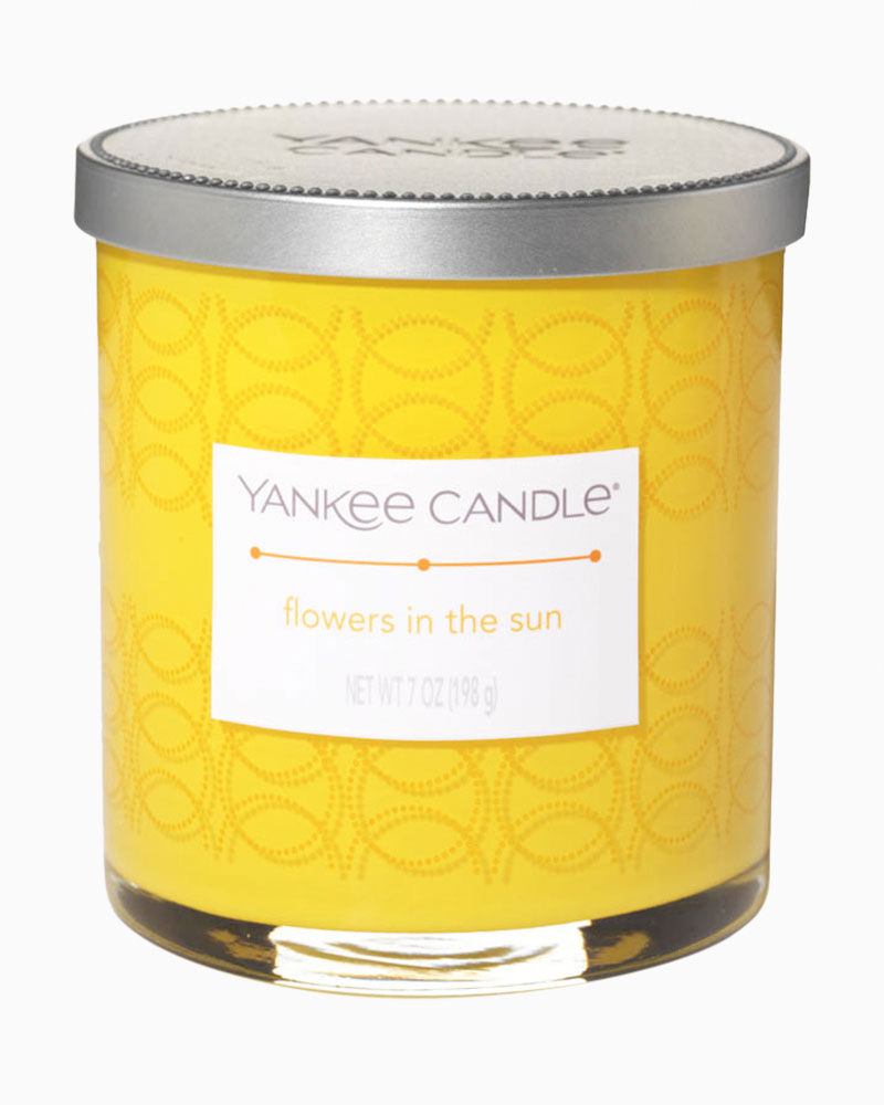 Yankee Candle Flowers in the Sun Decorated Tumbler Candle