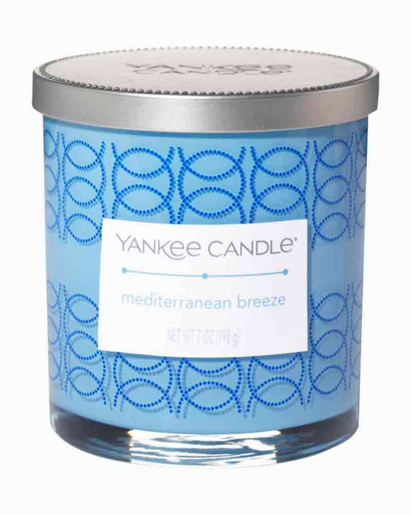 Yankee Candle Mediterranean Breeze Decorated Tumbler Candle