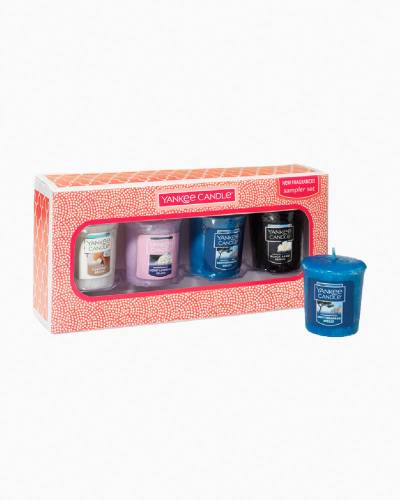 Beach Fragrances Samplers Votives Gift Set