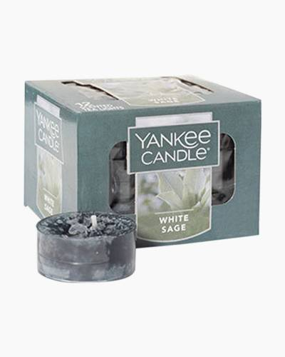 White Sage Scented Tea Lights (box of 12)