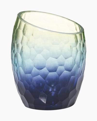 Aqua Marine Tea Light Candle Holder