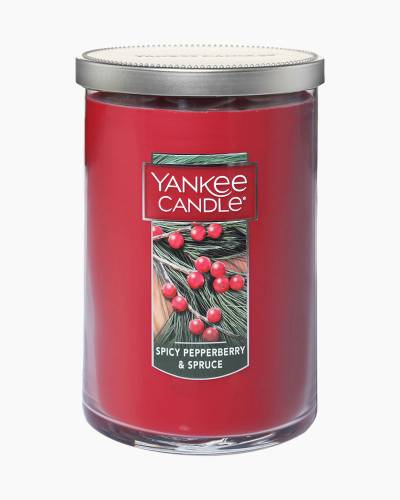 Spicy Pepperberry and Spruce Large 2-Wick Tumbler Candle