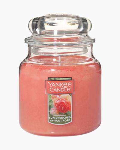 Sun-Drenched Apricot Rose Medium Jar Candle