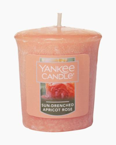 Sun-Drenched Apricot Rose Samplers Votive Candle