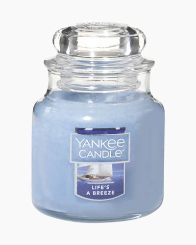 Life's a Breeze Small Jar Candle