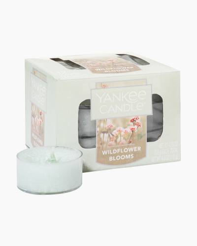 Wildflower Blooms Scented Tea Lights (box of 12)