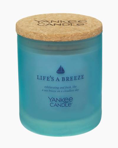 Life's a Breeze Limited Edition Sea Glass Tumbler Candle