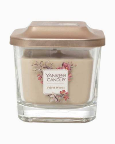 Velvet Woods Small 1-Wick Square Candle