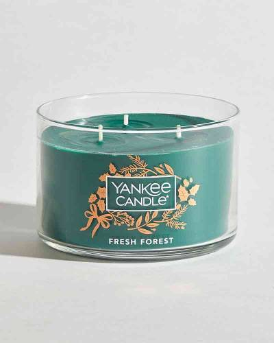 Fresh Forest Round 3-Wick Candle