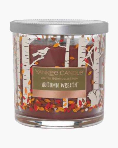 Autumn Wreath Fall Woods Collection Candle
