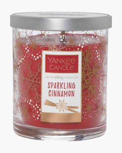 Sparkling Cinnamon Merry and Bright Collection Small Tumbler Candle