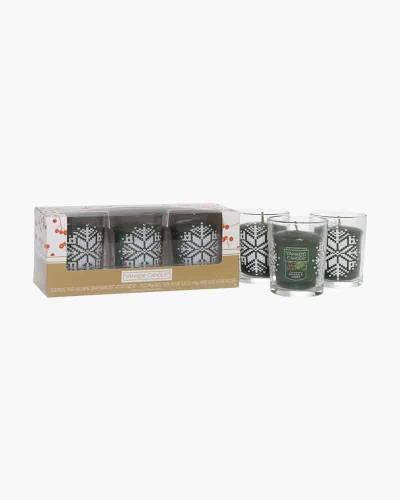 Balsam and Cedar Samplers Votive Candles Gift Set