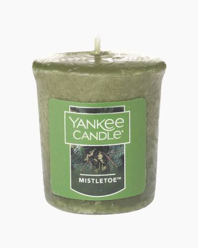 Mistletoe Samplers Votive Candle