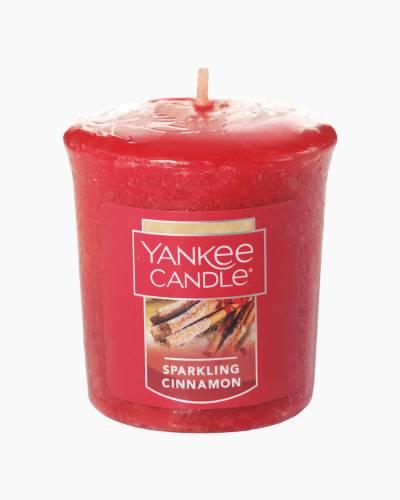Sparkling Cinnamon Samplers Votive Candle