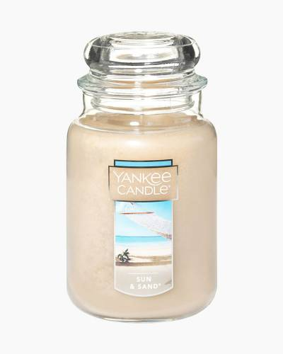 Sun and Sand Large Jar Candle