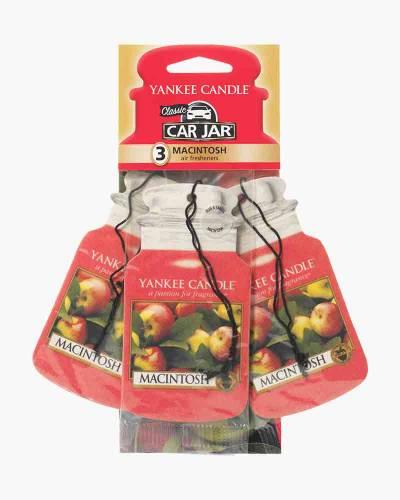 Macintosh Car Jar 3-Pack