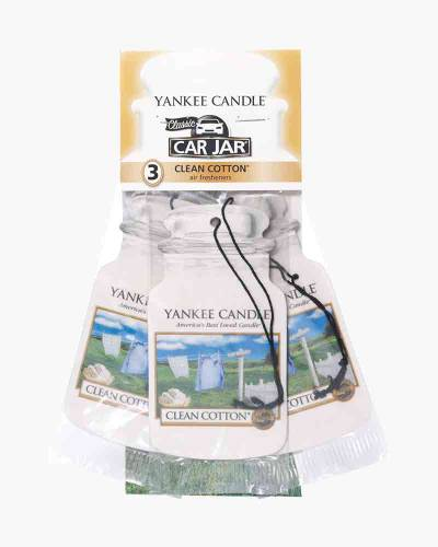 Clean Cotton Car Jar 3-Pack