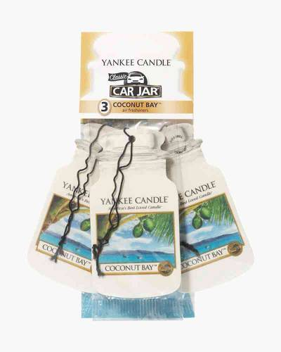 Coconut Bay Car Jar 3-Pack