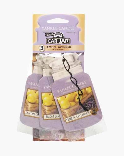 Lemon Lavender Car Jar 3-Pack