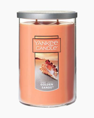 Golden Sands Large 2-Wick Tumbler Candle