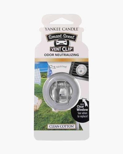 Clean Cotton Smart Scent Vent Clips