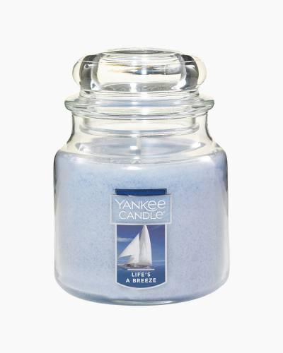 Life's a Breeze Medium Jar Candle