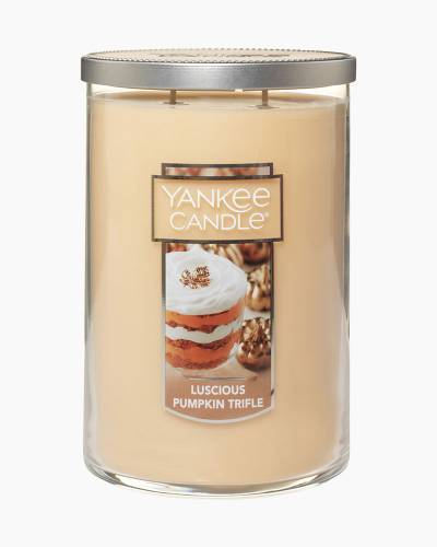 Luscious Pumpkin Trifle Large 2-Wick Tumbler Candle