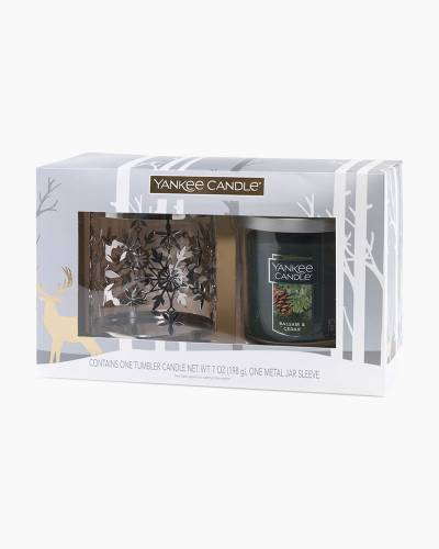 Balsam and Cedar Small Tumbler Candle Gift Set
