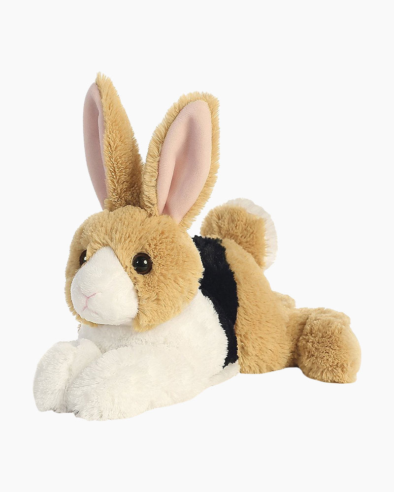 Aurora World Demi the Dutch Tri-Colored Rabbit Flopsies Plush