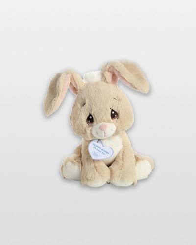 Precious Moments Tan Floppy Bunny Plush