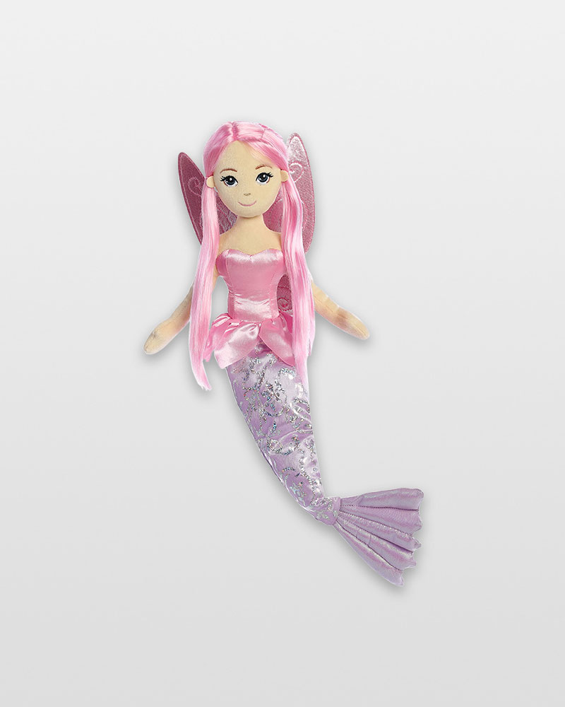 Aurora World Coralina Sea Fairy Mermaid Plush Doll