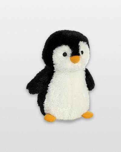 Small Black and White Penguin Plush
