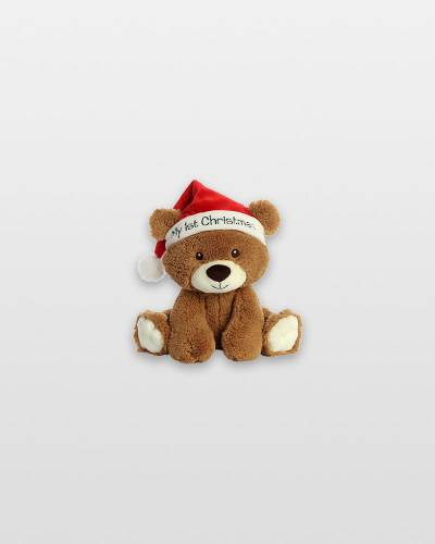 My First Christmas Bear Plush