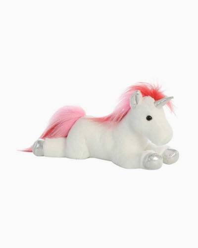 Velvet Swirls Unicorn Plush