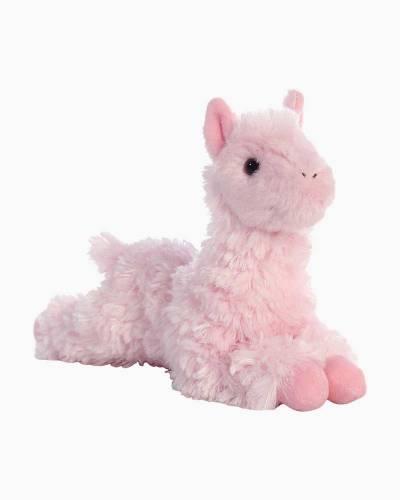 Pink Llama Mini Flopsies Plush