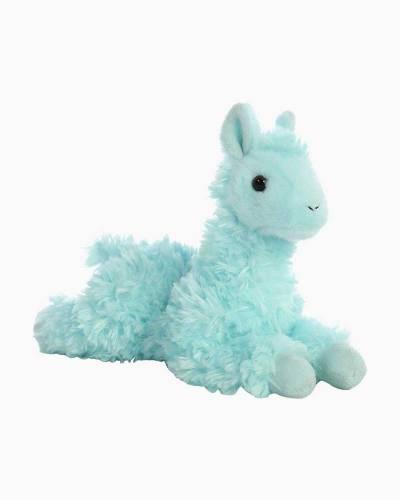 Teal Llama Mini Flopsies Plush