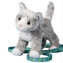 Douglas Scatter the Gray Cat Plush