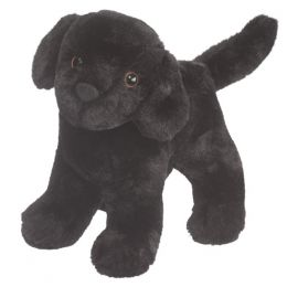 Douglas Abraham the Black Lab Plush